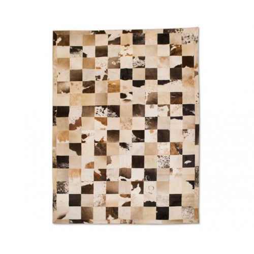 Tappeto patchwork in pelle...